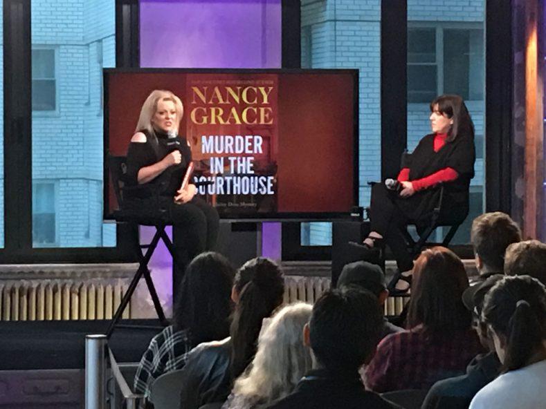 Nancy Grace Speaking at the AOL Build speakers' series in NYC