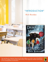 Introduction (Demigods and Monsters) - Classroom License